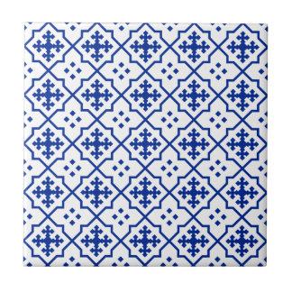 Marokkanisches Blau Kleine Quadratische Fliese