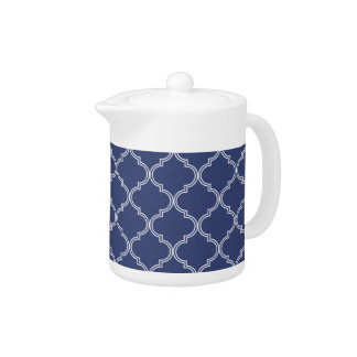 Marokkanisches Königsblau des Muster-|