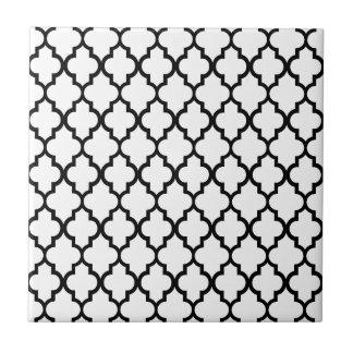 Marokkanisches Muster Kleine Quadratische Fliese