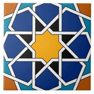 Marokkanisches spanisches geometrisches Muster Keramikfliese