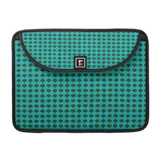 Marokkanisches Türkis-Skala-Muster Sleeves Für MacBooks