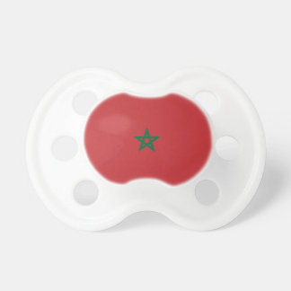 Marokko-Flagge Schnuller