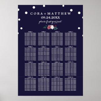Marsala und Burgunder auf Poster