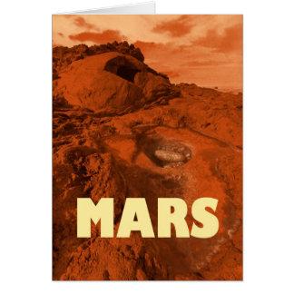 Marslandschaft Karte
