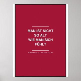 Marteria Peter Fox - Sekundenschlaf Poster