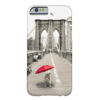 Marty Maus auf dem Brooklyn-Brücke iPhone 6 Fall Barely There iPhone 6 Hülle