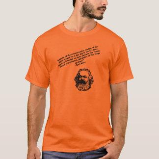 Marx-Zitat-Shirt T-Shirt