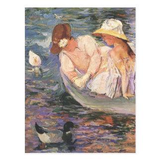 Mary Cassatt-Kunst-Postkarte Postkarte