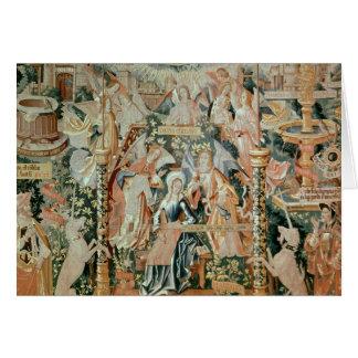 Mary im Tempel, Szenen vom Leben von Karte