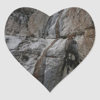 Mary Jane Fall-Berg Charleston Nanovolt Herz-Aufkleber