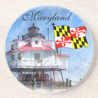 Maryland-Flagge Untersetzer