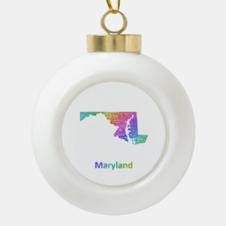 Maryland Keramik Kugel-Ornament