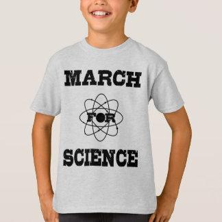 März für das Shirt des Wissenschafts-Kindes