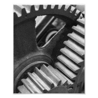 Maschinerie-Gänge Fotodruck