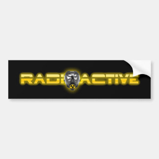 Maske radioaktives V2 Autoaufkleber
