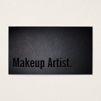 Maskenbildner-mutiger Text-elegante Dunkelheit Visitenkarten