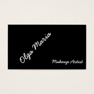 Maskenbildner-Visitenkarte Visitenkarten