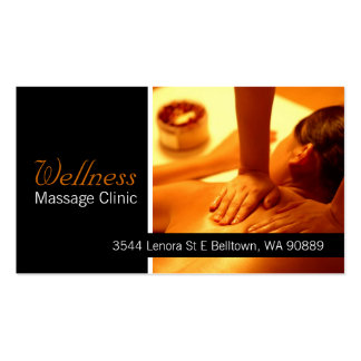 Massage Visitenkarten