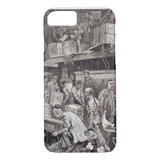 Masse an Bord eines Tee-Schiffs im London brechend iPhone 8/7 Hülle
