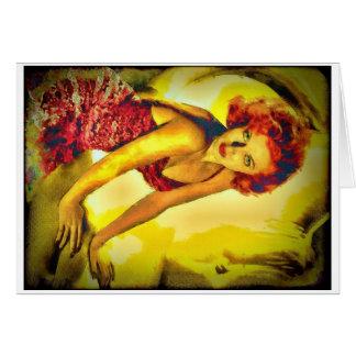 """""""Massen-Abdeckung"""" Lana Turner Karte"""
