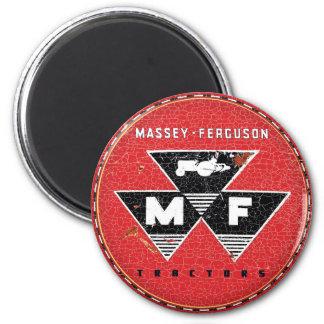 Massey Ferguson Vintage Traktoren Runder Magnet 5,7 Cm