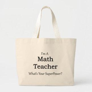 Mathe-Lehrer Jumbo Stoffbeutel