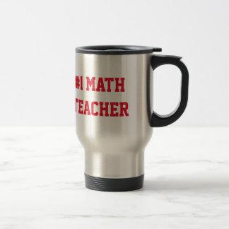 Mathelehrer-Anerkennungs-individueller Name der Reisebecher