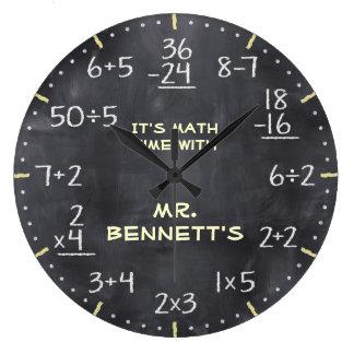 Mathematische Gleichungen Personalizable Uhr