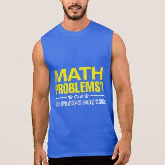 Mathematische Probleme Ärmelloses Shirt