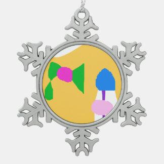 Matisse Schneeflocken Zinn-Ornament