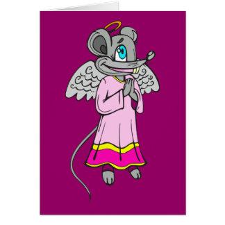 Mäuseengel Karte