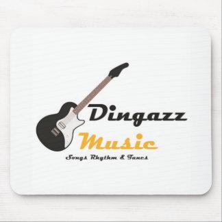 Mäusematte - Dingazz Musik Mousepad