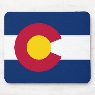 Mausunterlage mit Flagge von Colorado-Staat - USA Mauspad