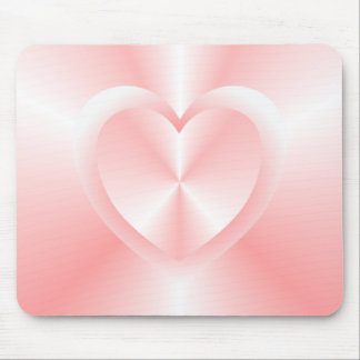 Mausunterlage mit zwei Herzen Mousepad