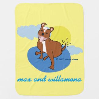Maximale u. Willamena   Baby-Decke Puckdecke