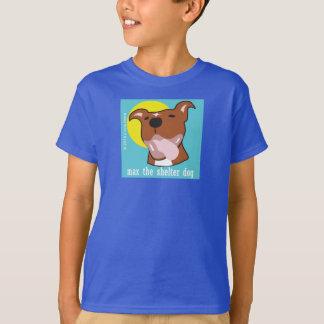 Maximale Zunge heraus scherzte grundlegendes Hanes T-Shirt