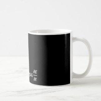 Maxwellphysikgleichung Kaffeetasse