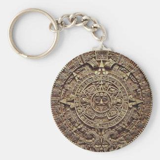 Mayakalender-Stein 12.21.2012 Standard Runder Schlüsselanhänger