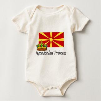 Mazedonische Prinzessin Baby Strampler
