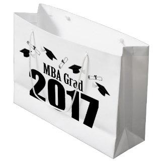 Mba-Absolvent-Abschluss-Geschenk-Tasche 2017 Große Geschenktüte