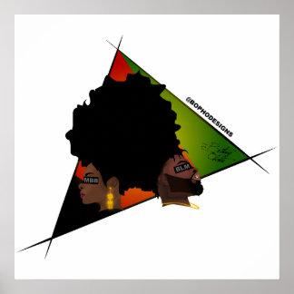 MBB (mein Schwarzes ist schön) Poster