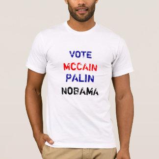 McCAIN, PALIN, ABSTIMMUNG, NoBAMA T-Shirt
