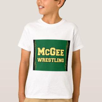 McGee Wrestling - neues Logo T-Shirt