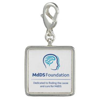 MdDS Bewusstseins-Quadrat-Charme und/oder Armband