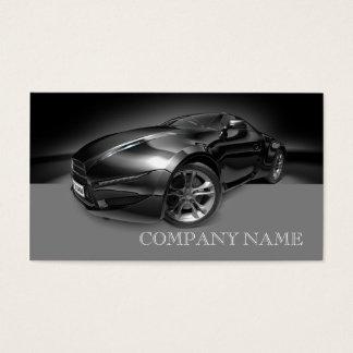 Mechaniker-selbstbewegendes schwarzes schnelles visitenkarte