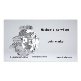 Mechanikerauto-Reparatur-Visitenkarte Visitenkarten