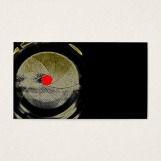 mechanisches Auge Visitenkarten