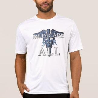 MEDICARE FÜR ALLEN Sport-tek T - Shirt weiß