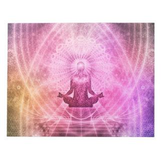 Meditations-Yoga-Glaube Notizblock