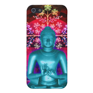 Meditierender Buddha-Fall ausgebuffter iPhone 5 Fa iPhone 5 Hülle